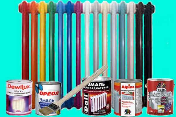 Окрашивание радиаторов отопления: какую краску выбрать, подготовка поверхности, способы нанесения
