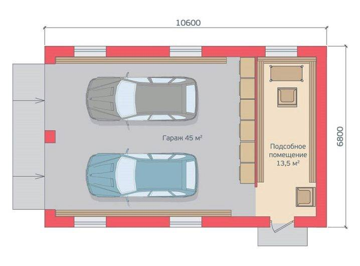 Размеры гаража: ценные советы при постройке