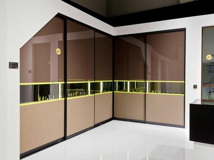 Радиусные шкафы: оптимальное размещение и подбор стиля к дизайну помещения (80 фото)