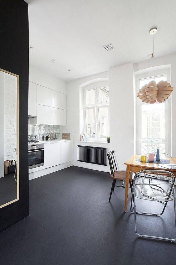 Наливной пол на кухне — 80 фото актуального дизайна и видео мастер-класс применения в дизайне интерьера
