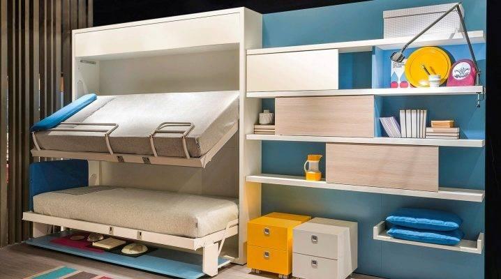 Двухъярусная кровать с диваном внизу: 90+ (фото) широкого выбора
