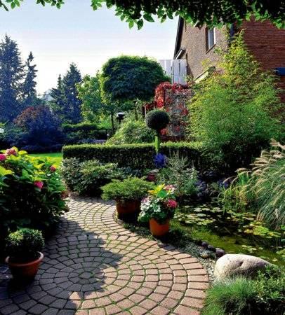 Ландшафтный дизайн узкого участка (39 фото): рекомендации оформления длинного участка с домом и с перголой