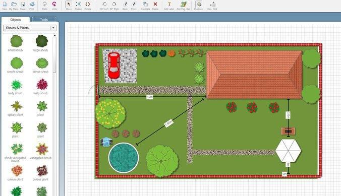 Программы для планировки участка: обзор бесплатных и онлайн программ для планирования дачного участка