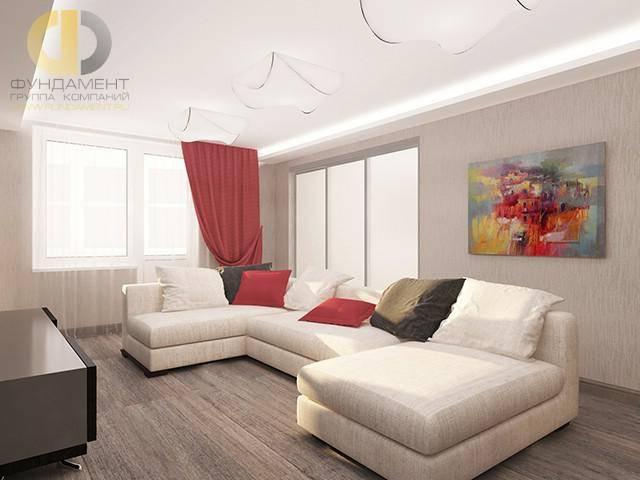 Дизайн четырехкомнатной квартиры: планировки, 3 проекта, фото
