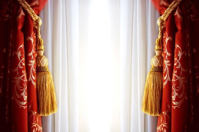 Французские шторы в интерьере - 100 фото оригинального дизайна и удачного сочетания