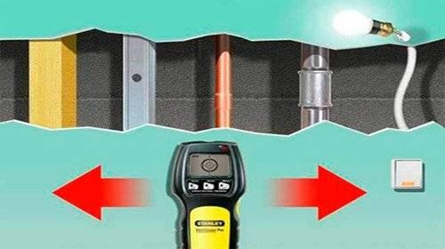 Металлоискатель для проводки