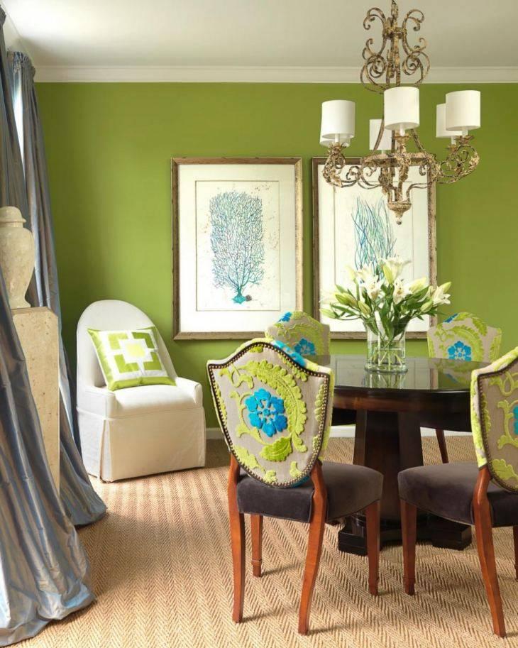 Правильное сочетание цветов в интерьере гостиной комнаты