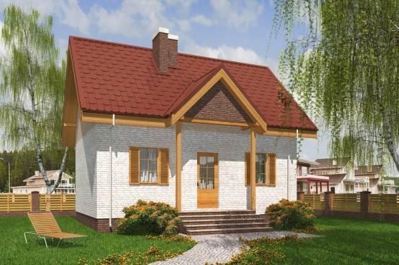 Красивые крыши домов с мансардой и балконом, разновидности дизайна, проекты из двухскатной крыши