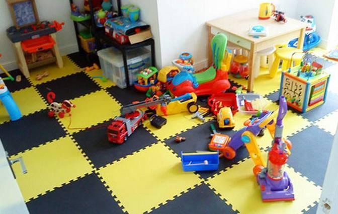 Мягкий пробковый или наливной пол для детской комнаты, ковер для игровой