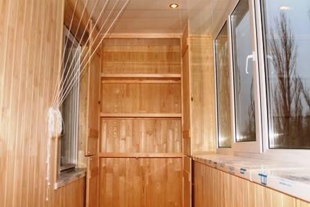 Шкаф на балкон или лоджию своими руками
