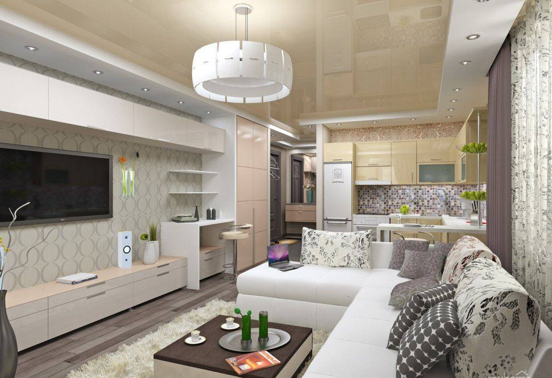 Однокомнатная квартира: стилевые решения с элементами декора. 205+ фото идей современного интерьера
