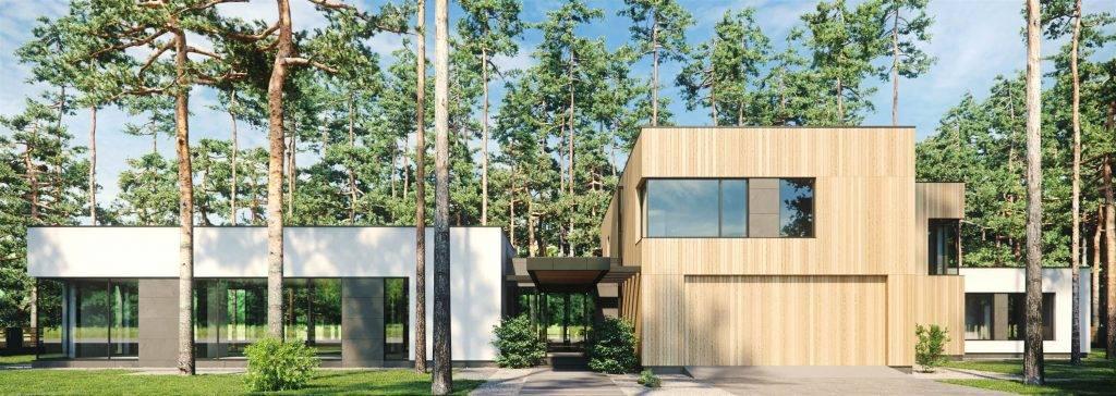 Дома с плоской крышей — современные проекты и обзор лучших идей дизайна плоской кровли (95 фото)