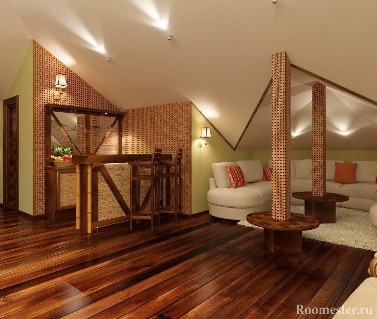 Дизайн мансардного этажа: 100+ фото и решений