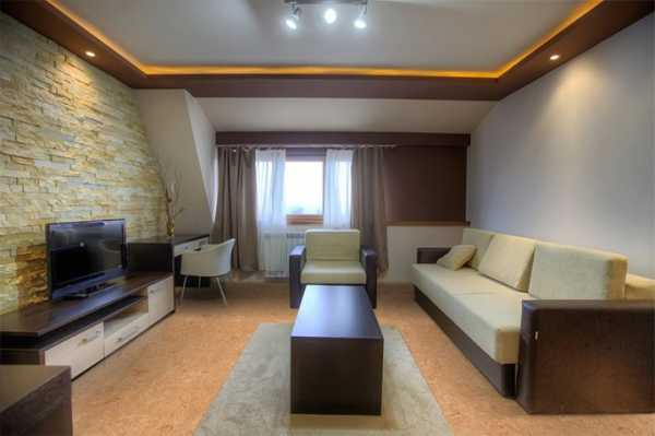 Многоуровневый потолок из гипсокартона с подсветкой - плюсы, минусы и примеры