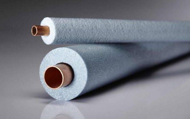 Утеплитель (теплоизоляция) для труб из вспененного полиэтилена