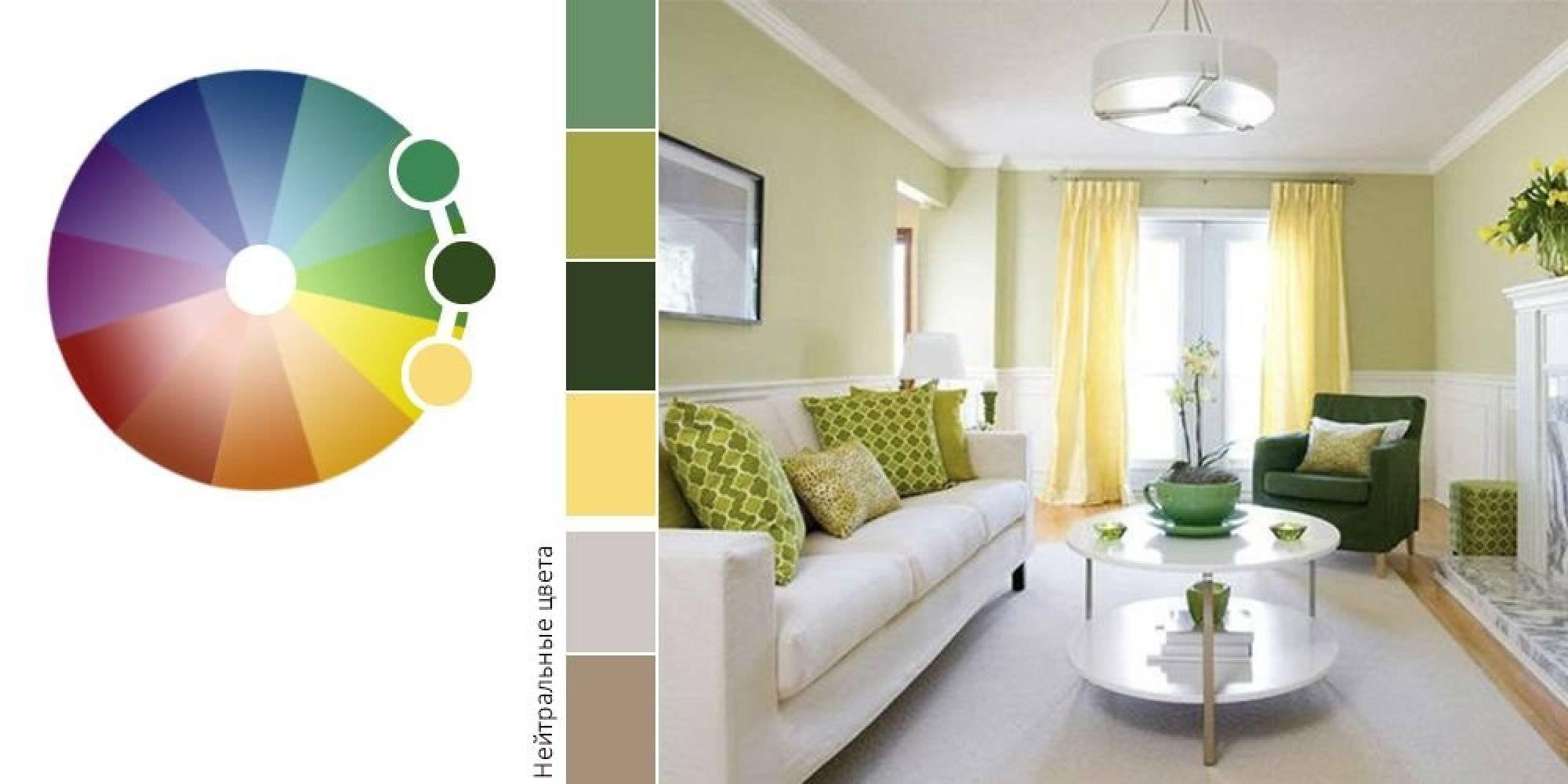 Шторы двух цветов: правильные сочетания и стильные примеры дизайна (115 фото)