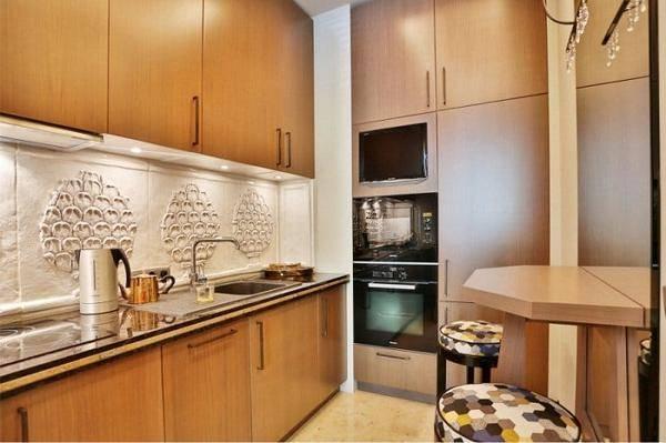 Кухни из массива дерева: 100 фото дизайна деревянных кухонь