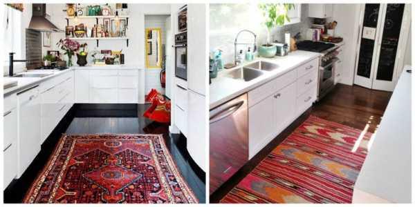Нужен ли ковёр на кухне?