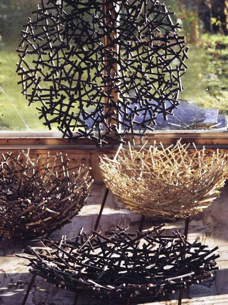 Дерево из веток своими руками: 110 фото простых идей декора и оформления ветками