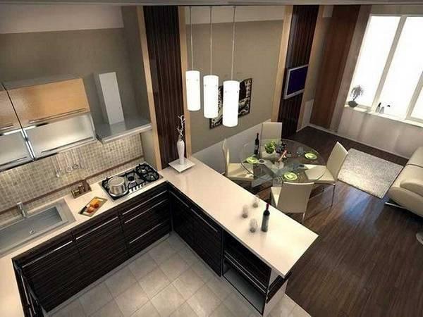 Дизайн квартиры-студии 18 кв. м. [50+ фото] планировки, зонирование