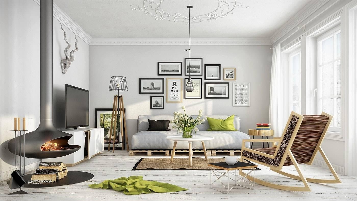 Самый простой способ дизайна маленькой квартиры ⋆ скандинавский стиль
