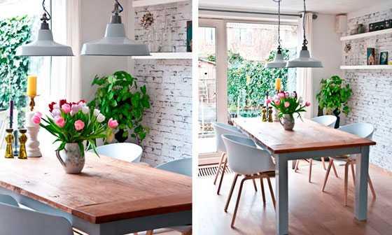 Интерьер кухни с камнем на стене: 70 фото и современных идей