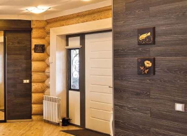 Ламинат на стене: как правильно закрепить основу и панели на вертикальных поверхностях (85 фото)