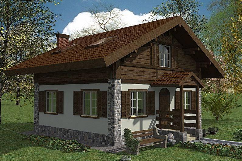 Дом шале. виды. плюсы и минусы домов в стиле шале.   строй сам