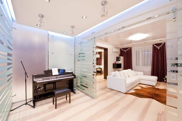Стеклянные двери в интерьере: 100 фото красивых примеров дизайна