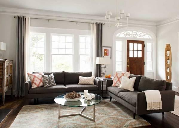 Как расставить мебель в зале (гостиной)