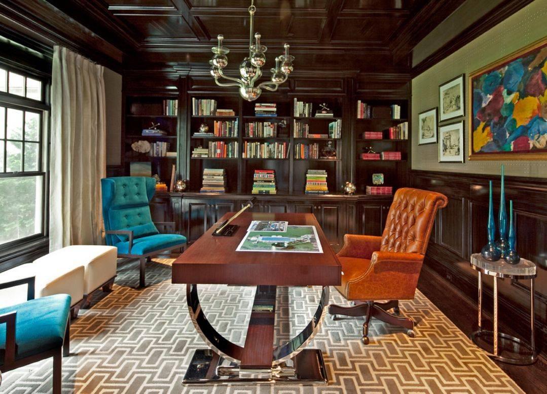 Темный потолок в интерьере: 80 роскошных и строгих дизайнерских вариантов