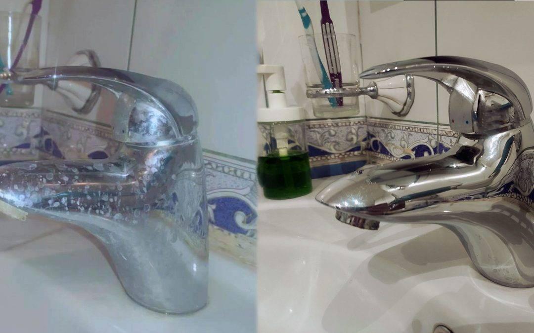 Как очистить лейку душа от известкового налета? как почистить внутри краны, как отмыть смесители и душевые лейки в домашних условиях