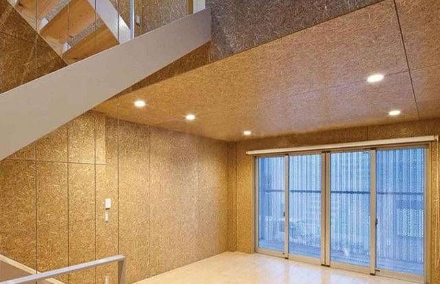 Потолок из осб плит и его отделка - как и чем делать подшивку