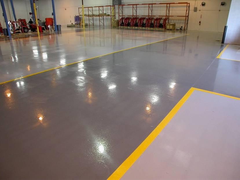 Чем покрыть (чем обработать) бетонный пол, чтобы он не пылил