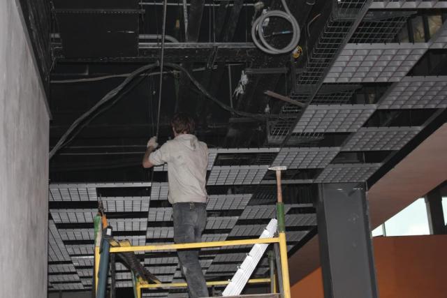 Монтаж потолка грильято: решетка для ячеистого подвесного потолка, размеры, типы, установка, как собрать