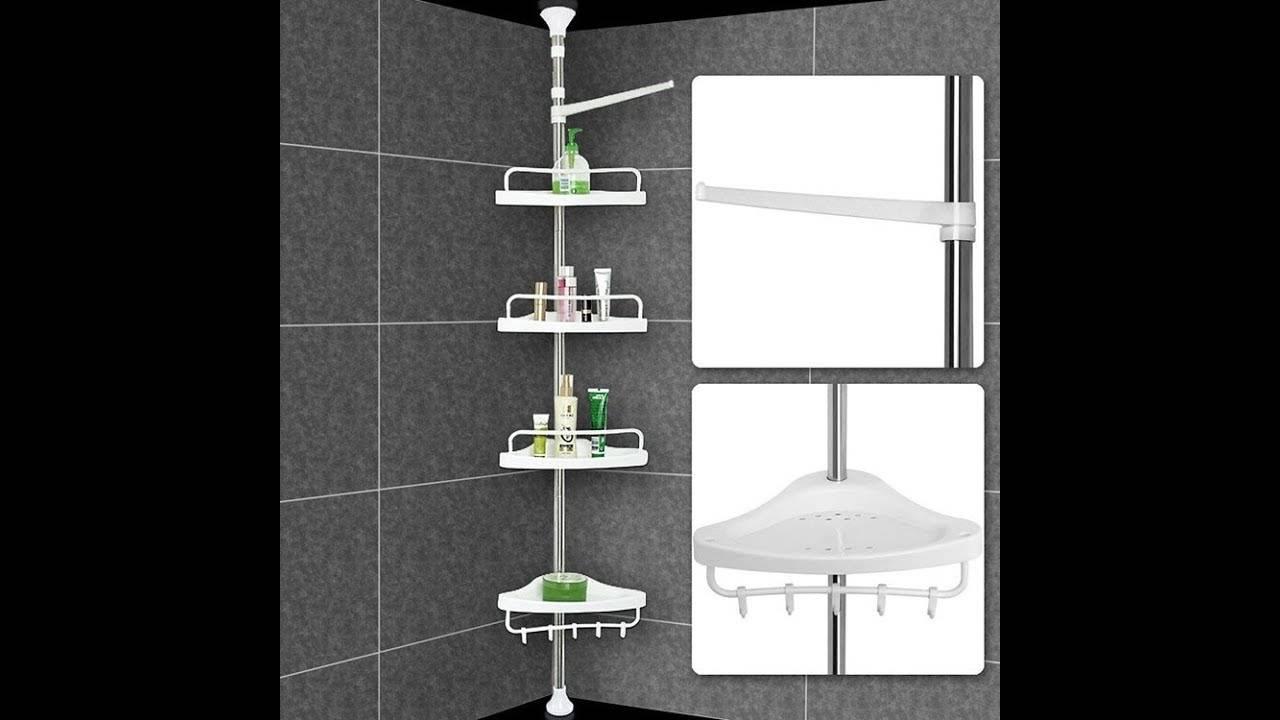 Полки для ванной комнаты: 130 фото идей, основные виды и особенности установки
