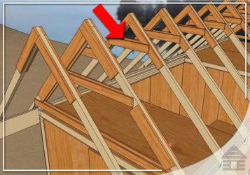 Как сделать стропильную систему двускатной крыши, как правильно собрать и положить стропила - технология, инструкции на видео и фото