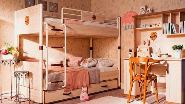 Двухъярусные кровати для девочек: какие бывают, правила выбора