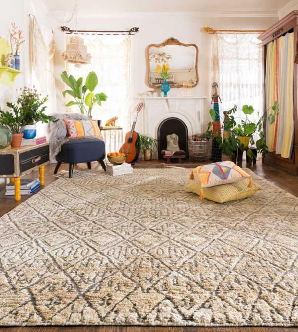 Модные ковры в интерьере: стили, производители, какие выбрать