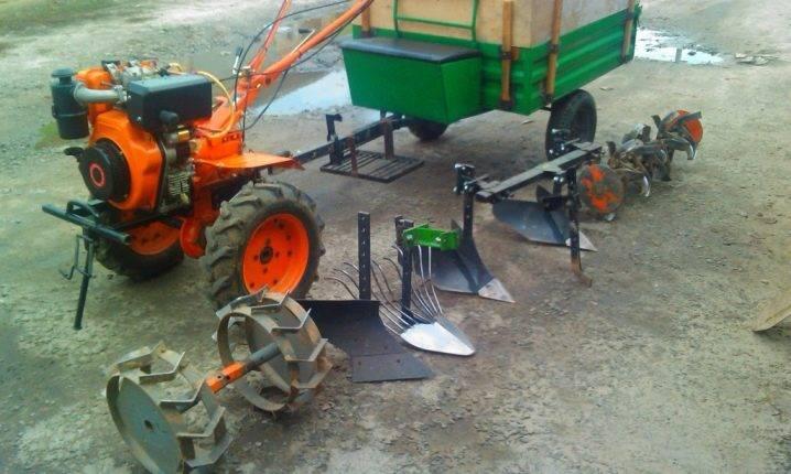 Культиваторы на мини-трактор — их виды, своими руками, видео