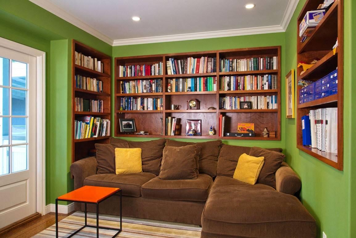 Как хранить книги в интерьере - фото примеров