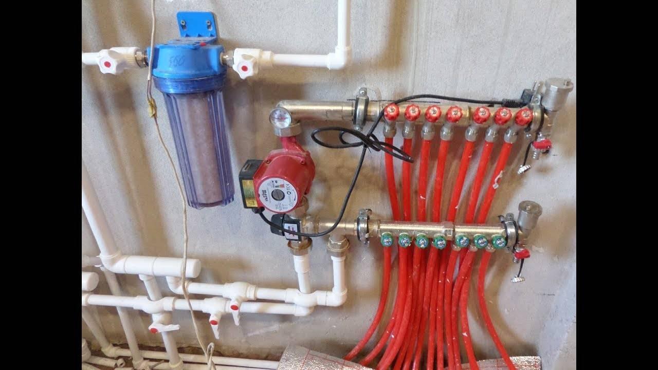 Смесительный узел для теплого пола своими руками: назначение, устройство, изготовление