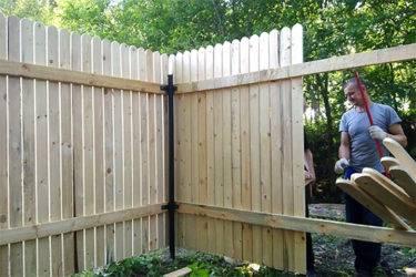 Строительство деревянных заборов – детальная инструкция установки и рекомендации от специалистов