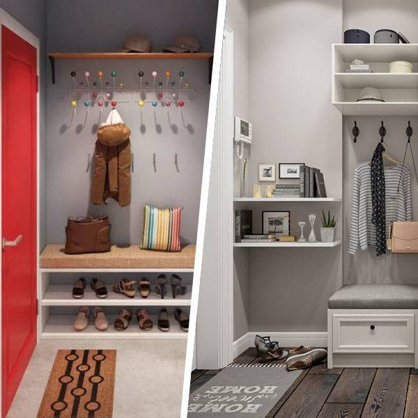 Интерьер прихожей в квартире: 108 фото в современном стиле