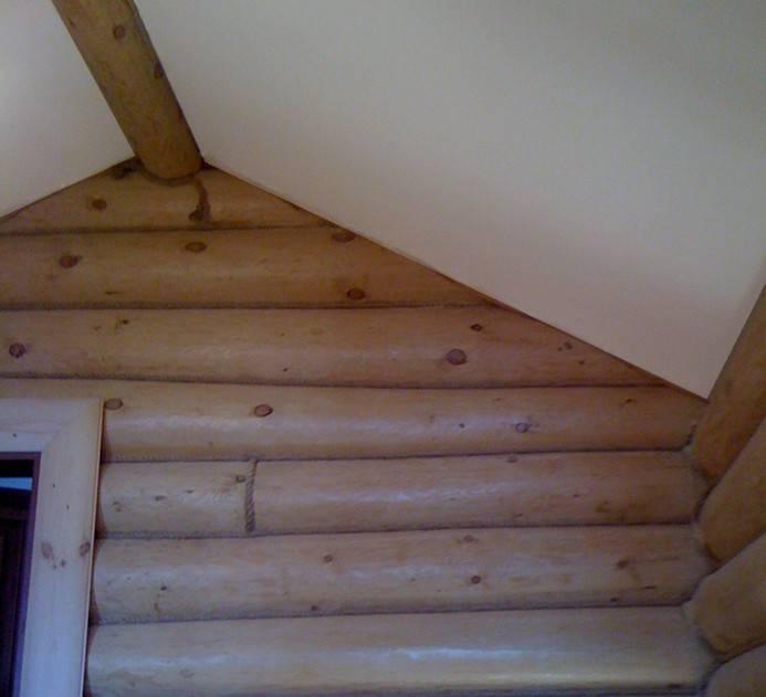 Чем обшить потолок в деревянном доме внутри – 5 наилучших вариантов
