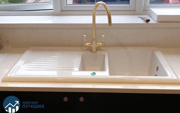 Как выбрать каменную мойку для кухни