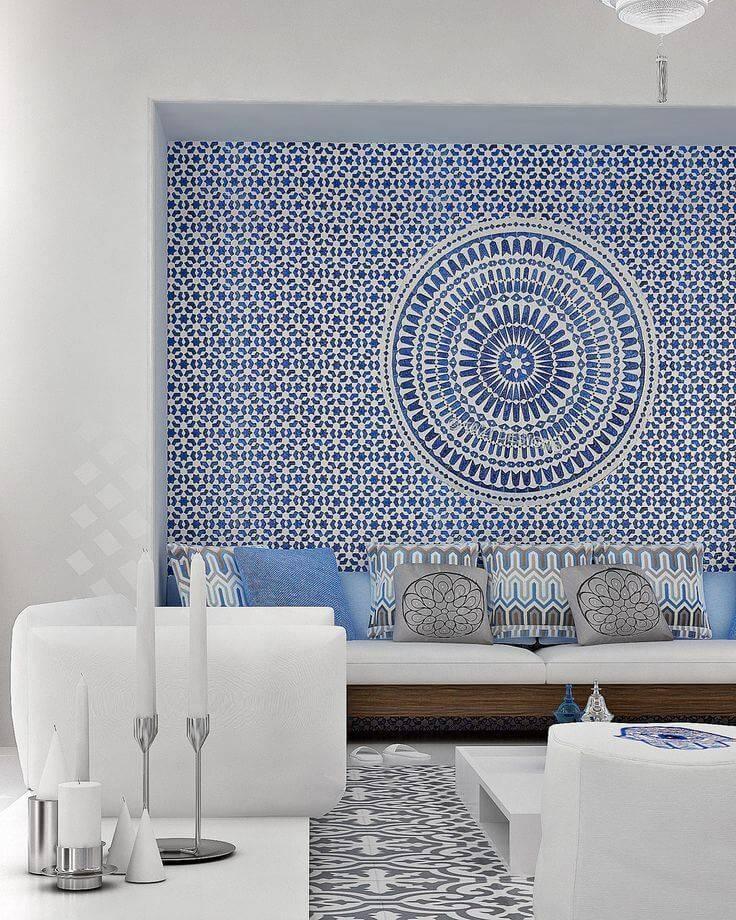 Оригинальный декор стен своими руками— 25 идей сфото
