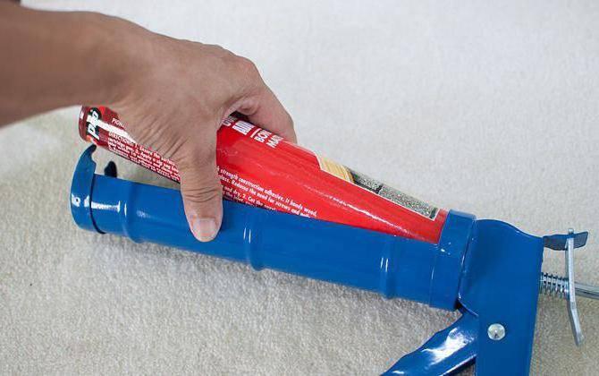 Как пользоваться пистолетом для герметика – осваиваем новый инструмент
