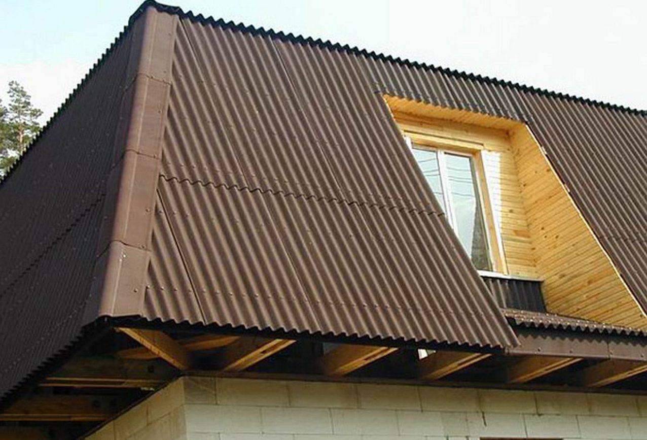 Как крепить ондулин на крышу, установка обрешетки и сколько гвоздей потребуется на лист ондулина?