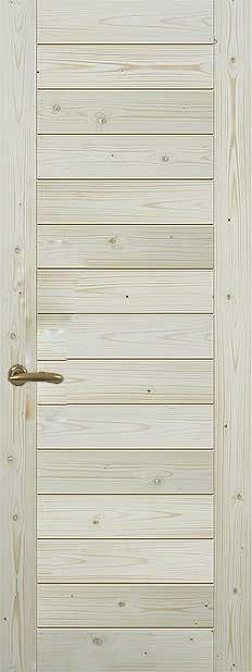 Особенности неокрашенных дверей из массива сосны от производителя: достоинства, правила выбора, уход